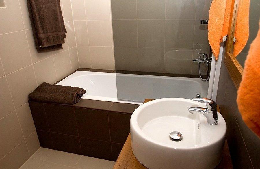 Ванна маленькая дизайн фото в квартире