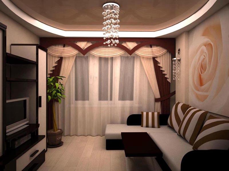 Дизайн ремонта зала в квартире фото