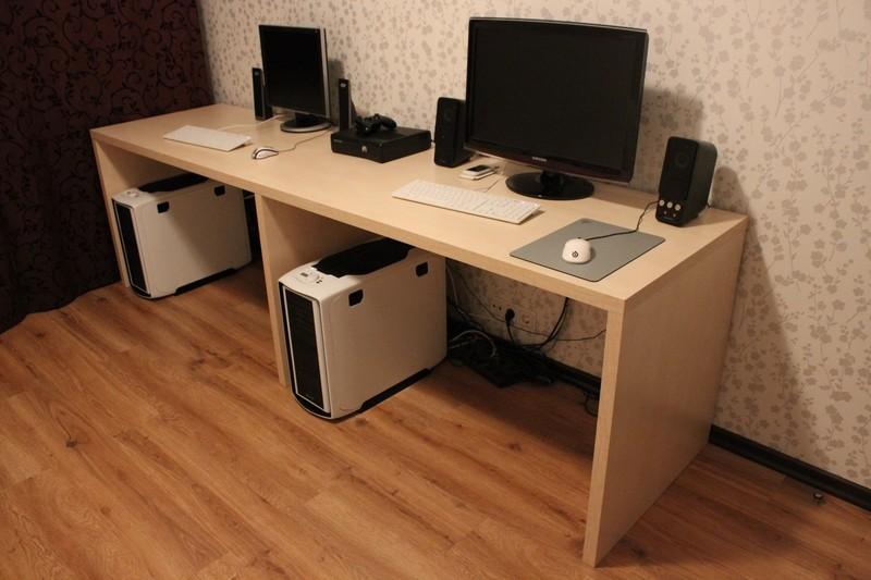 Компьютерный стол своими руками: достоинства и инструкция по.