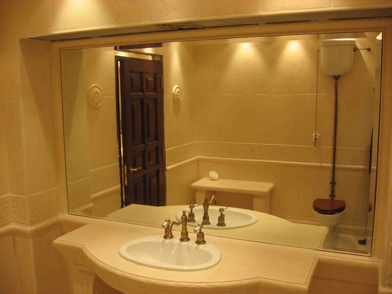 Зеркала в дизайне ванной комнаты